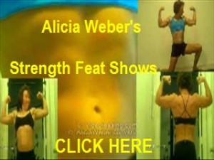 Click for Alicia's Strength Feat Shows at VideoTeasing