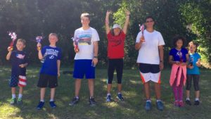 "The Official, Inaugural Stars & Stripes ""Tag Team"" Archery Championship under the tutelage of Coach Alicia Weber with athletes from American Eagles and USA X-Shots."